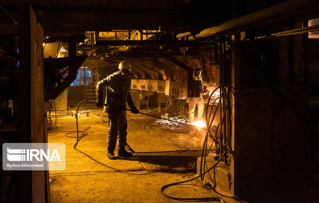 تولید آهن اسفنجی از مرز ۱۵.۵ میلیون تن گذشت