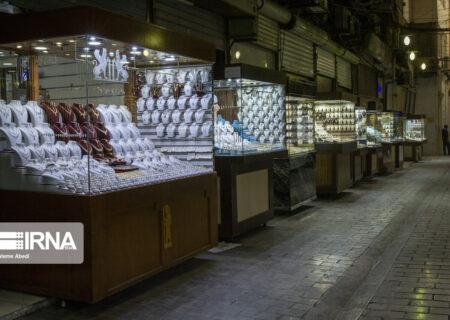 تعطیلی ۱۵ روزه بازار طلا و جواهر تهران