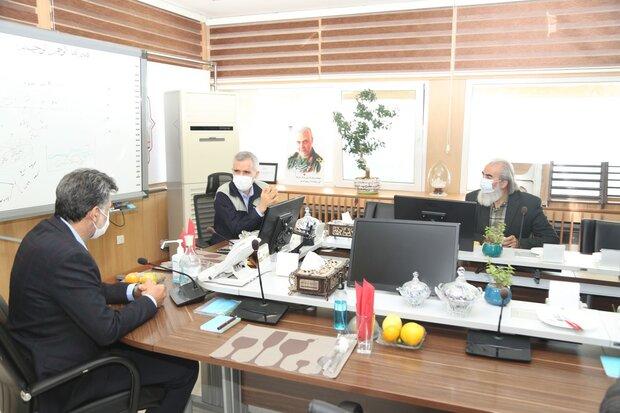 نشست تعاملی مدیرعامل ذوب آهن اصفهان و مدیر کل صدا وسیمای استان