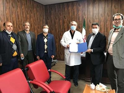 مشارکت بانک رفاه کارگران در تجهیز بیمارستان شهید لبافی نژاد تهران