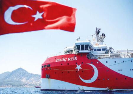 نقشه برداری گازی ترکیه در شرق مدیترانه ادامه خواهد داشت