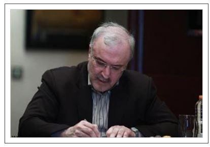وزیر بهداشت از حمایت های فولاد مبارکه در کنترل بیماری کویید۱۹ تقدیر کرد