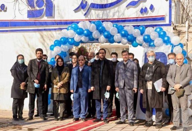 افتتاح ساختمان جدید شعبه سرمد در اردبیل/ تشکر فرماندار از سرمدیها