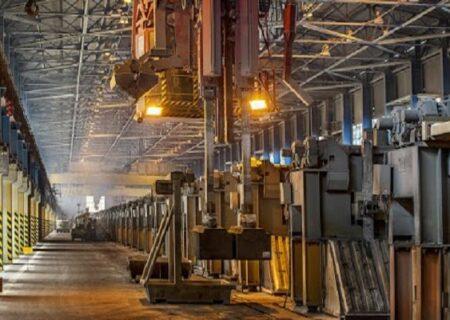 تولید آلومینیوم ۶۶ درصد رشد کرد
