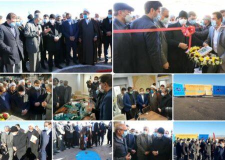۷ پروژه در مجتمع مس سرچشمه و شهرستان رفسنجان افتتاح و کلنگزنی شد