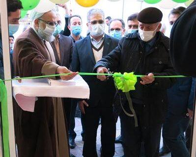 افتتاح مکان جدید شعبه صومعه سرا بانک مهر ایران در استان گیلان