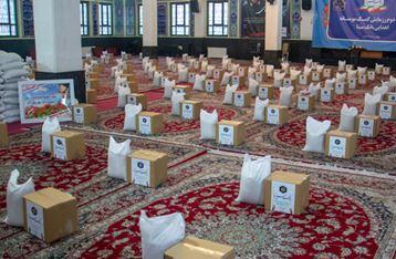 اهدای ۱۸۰۰ بسته معیشتی به ایتام و نیازمندان از سوی بانک سینا