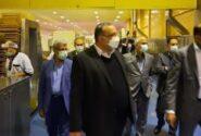 بازدید مدیران ارشد بانک ملی ایران از یک طرح صنعتی