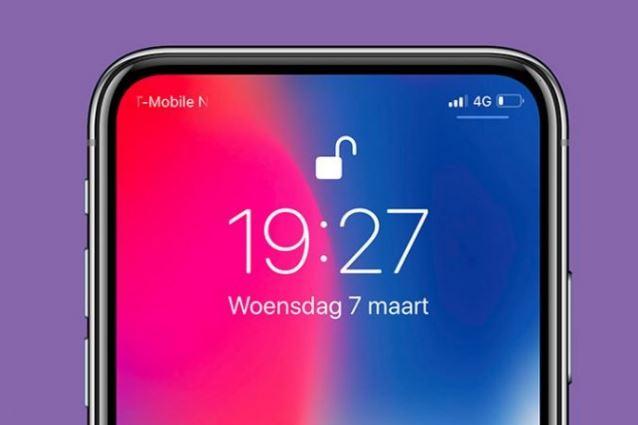 تکنولوژی جدید اپل با ادغام Face ID و نمایشگر ناچ را حذف کند