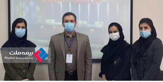 مسابقهTalk Show در بیمه ملت برگزار شد