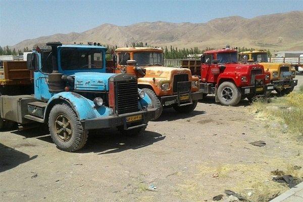 نوسازی قطره چکانی ناوگان/ ۱۳۷۰ کامیون دست دوم در آستانه ترخیص