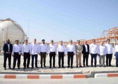بازدید مدیرعامل بانک ملت از پروژه های شرکت مهندسی و ساختمان صنایع نفت (OIEC)