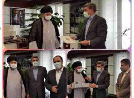 تجلیل مدیرعامل بانک صادرات ایران از جانباز شیمیایی دوران دفاع مقدس