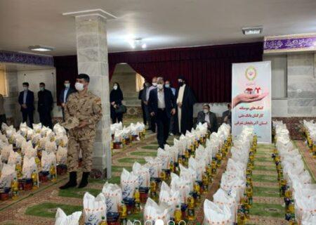 اهدای کمک های مومنانه بانک ملی ایران در استان آذربایجان شرقی