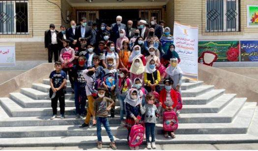 با همت بانک پاسارگاد، فضای آموزشی شایسته ای در اختیار فرزندان روستای دمرود علیا قرار گرفت