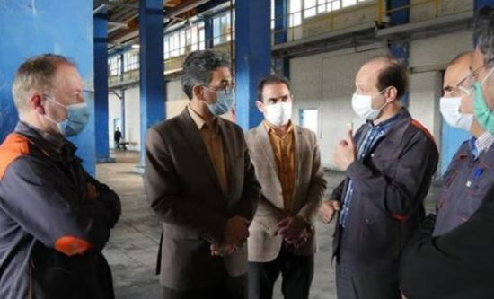 بازدید مدیرکل استاندارد استان اردبیل از کارخانه لاستیک گلدستون