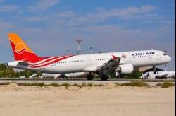 بازگشت هواپیمای ایرباس A321 هواپیمایی کیش به ناوگان عملیاتی شرکت