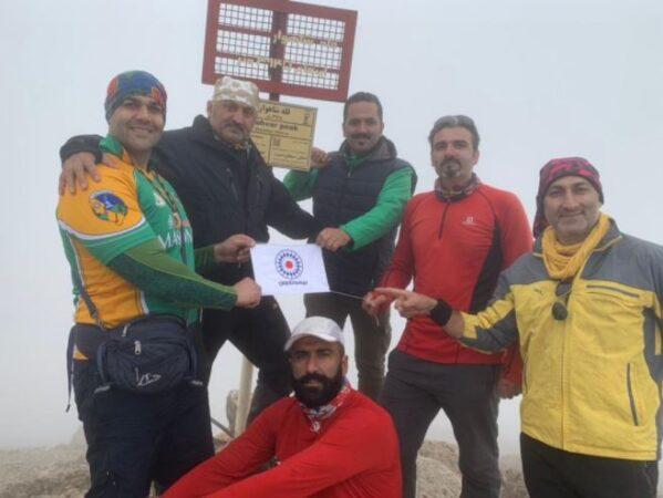 فتح قله شاهوار توسط کارکنان بیمه تعاون