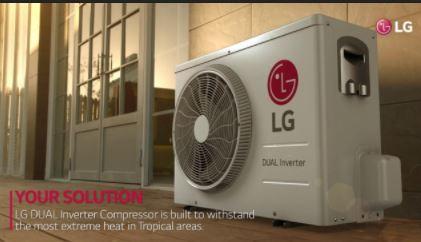 مصرف انرژی کمتر و سرعت خنککنندگی بیشتر با تکنولوژی Dual Inverter Compressor