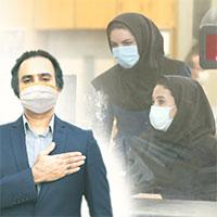 کارکنان بانک ملی ایران، در کنار مشتریان و کرونا!