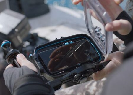 تصویربرداری از اعماق آب با گلکسی S21 سامسونگ در روز جهانی اقیانوس