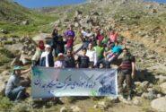 پیاده روی و کوهپیمایی خانوادگی همکاران پگاه همدان