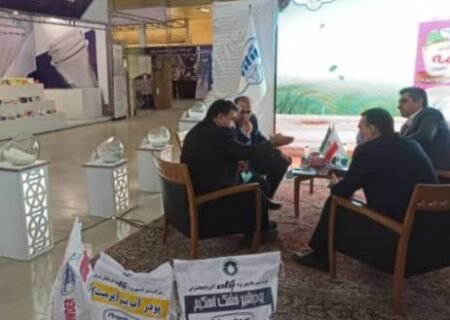 حضور پگاه تبریز در نمایشگاه شیرینی و شکلات تبریز
