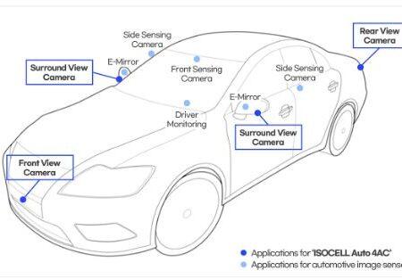 سامسونگ اولین حسگر تصویر ویژه خودرو را معرفی کرد