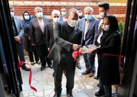 افتتاح مهمانپذیر شهدای مدافع سلامت بانک ملی ایران