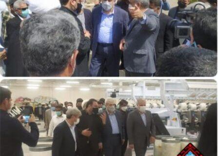 بازدید معاون علمی و فناوری رئیس جمهور از کارخانجات گسترش صنایع بلوچ