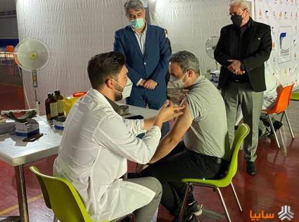 روند واکسیناسیون قطعه سازان به خوبی در حال انجام است