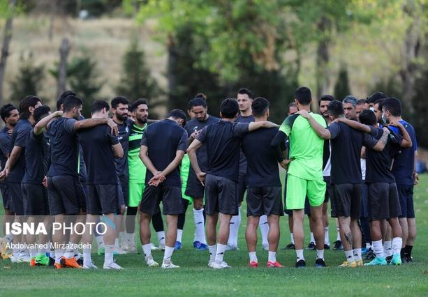 اولین تمرین استقلال پس از باخت مقابل الهلال/ هواداران تولد وریا را تبریک گفتند