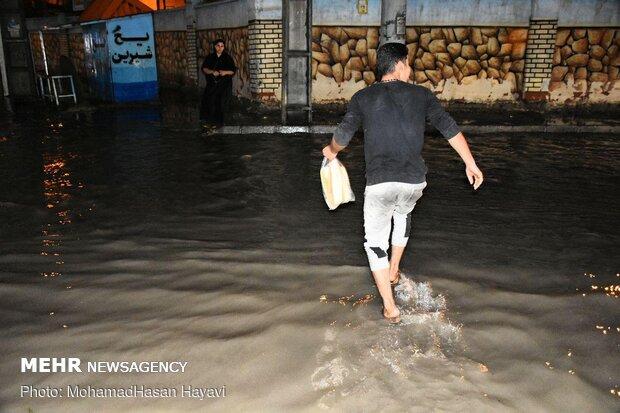 استانهای معین برای رفع آبگرفتگی در خوزستان کجا هستند؟