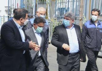اعضای هیئت مدیره توسعه صنایع بهشهر از پاکسان بازدید نمودند