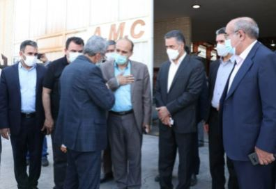 افتتاح شعبه شهرک صنعتی شمس آباد