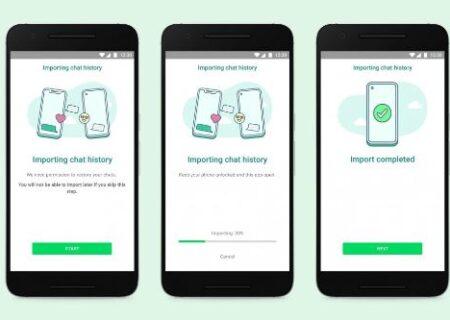 امکان انتقال چتهای واتساپ از محصولات iOS به گلکسیهای سامسونگ فراهم شد
