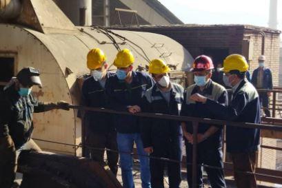 تعمیرات اساسی آگلوماشین شماره یک شرکت با موفقیت انجام شد