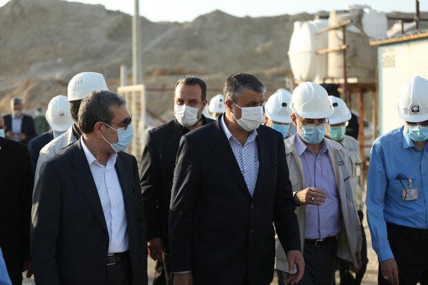 رئیس سازمان انرژی اتمی از نیروگاه بوشهر بازدید کرد