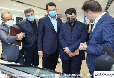 وزیر تعاون، کار و رفاه اجتماعی تحت پوشش بیمه زندگی بیمه تعاون قرار گرفت