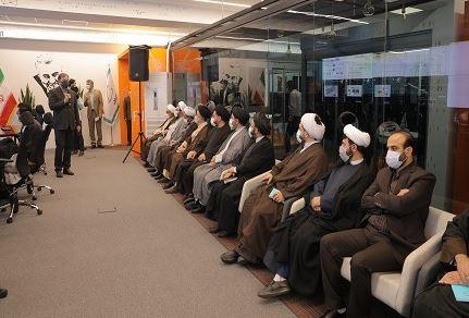 بازدید روسای نهاد نمایندگی مقام معظم رهبری در دانشگاههای تهران از مرکز مانیتورینگ همراه اول