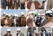 بازدید نماینده مردم اردکان در مجلس از مجتمع ورزشی شهید سلیمانی