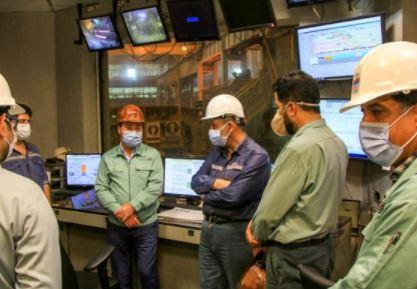بازدید و گفتوگو مدیرعامل فولاد هرمزگان با کارکنان این شرکت