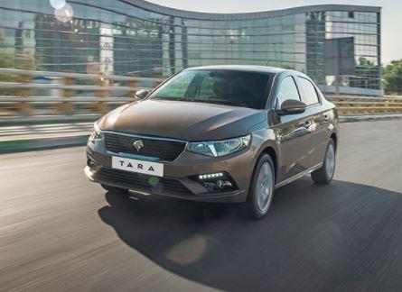 تارا اولین خودروی ایرانی دارای امکانات هدایت پذیری