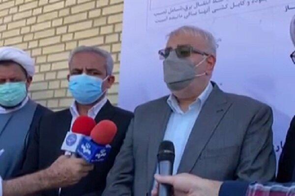 توضیحات وزیر نفت در مورد پروژههای عامالمنفعه در استان بوشهر