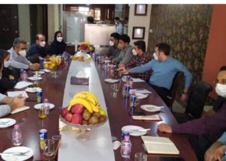 جلسه مشترک مدیران فولاد مبارکه و فولاد اکسین برگزار شد
