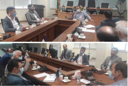 جلسه کمیته اجرایی وصول مطالبات بیمه میهن