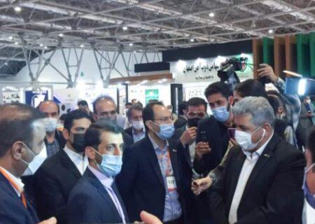 حضور مجتمع صنعتی اسفراین در سیزدهمین نمایشگاه  فولاد  اصفهان
