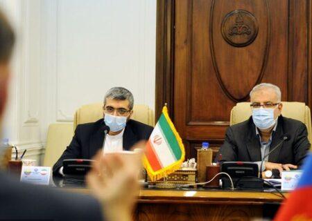 وزیر خارجه ونزوئلا با وزیر نفت کشورمان دیدار کرد