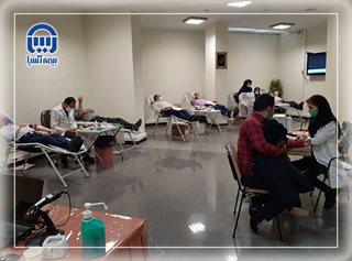 کارکنان بیمه آسیا خون خود را اهدا کردند