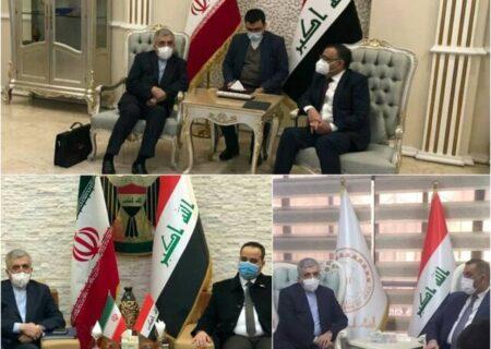 دیدار وزیر نیرو با سه مقام عراقی در سفر به این کشور